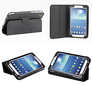 PU Leather Full Body Cases Cases with Stand Auto Sleep/Wake Up Solid Color For SamsungTab 3 8.0 (T310/T311) Multi-color