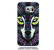 The Wolf Pattern TPU Soft Case for Samsung Galaxy S6 edge