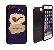 Tobacco Pipe Design 2 in 1 Hybrid Armor Full-Body Dual Layer Shock-Protector Slim Case for iPhone 6