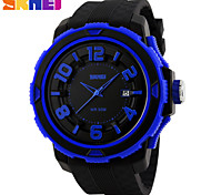 skmei® reloj deportivo unisex correa de silicona de línea estilo 3d