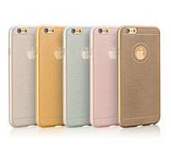 2015 Top Selling Super Slim TPU Back Case Cover for iPhone 6/6S (Assorted Colors)