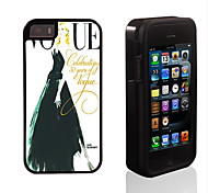 Elegant Model Pattern 2 in 1 Hybrid Armor Full-Body Dual Layer Shock-Protector Slim Case for iPhone 5/5S