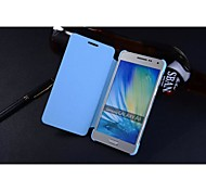 For Samsung Galaxy Case Flip Case Full Body Case Solid Color PU Leather Samsung A5