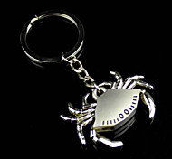 Alloy Mechanical Mini Crab Key Chain