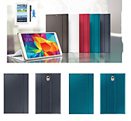 ultra-dünne intelligente lederne Abdeckung Mappenkasten für Samsung Galaxy Tab 8.4 s t700t705 + Stylus + fishbone + Film-Folien-