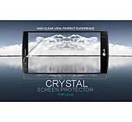 cristal NILLKIN film transparent de protection d'écran anti-empreintes digitales pour lg g4