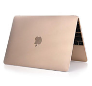 """Case for MacBook 12"""" with Retina display Business Solid Color Plastic Material High Quality Solid Color Full Body Matte Case"""