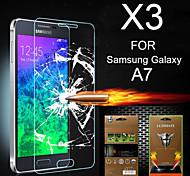 ultimative Stoßdämpfung Displayschutzfolie für Samsung Galaxy A7 (3 Stück)