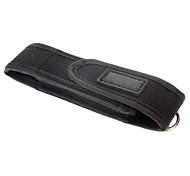 couvercle mini lampe de poche cas (noir)