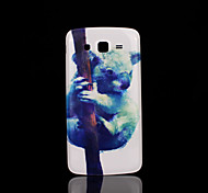 luiaard patroon deksel fo Samsung Galaxy Grand 2 g7106 case