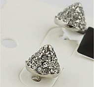 Simple High-grade Diamond Flash Earrings*1pc