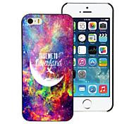 leve-me para Neverland caso duro alumínio de design para iPhone 5 / 5s