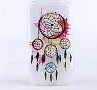 modello campanula coperture del telefono rilievo dipinto materiale TPU trasparente per Alcatel One Touch pop c9