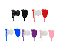In Ear Colorful Headphones for Samsung/iPhone Smart Phones with Mic