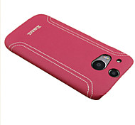Xmart® Leather Back Cover Case For HTC One M8 Cell Phone Case (Assorted Colors)