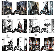 Assassins Body Decal Stciker Skin for Microsoft Xbox 360E Console+Controllers