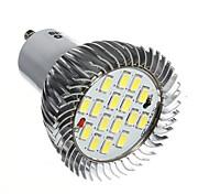 1 Stück LED Spot Lampen GU10 7W 520-550 LM 6000-6500 K 16 SMD 5630 Kühles Weiß AC 85-265 V