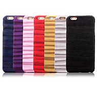 sottile pc di disegno venature del legno duro della copertura posteriore del iPhone 5 / 5s (colori assortiti)