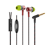 i-1-b 3.5mm Jack High Quality Stereo Music Headphones Volume Control Earphones for iPhone 6 Meizu HTC Xiaomi LG