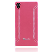 Xmart® Leather Back Cover Case For Sony Xperia Z1  L39H Cell Phone Case (Assorted Colors)