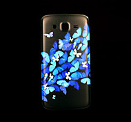 bloempatroon deksel fo Samsung Galaxy Grand 2 g7106 case