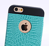 Special Design High quality Solid Color Silicone Glitter Back Cover iPhone 6 Plus