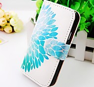 The Peacock Flowers Pu Leather Case for Samsung Galaxy S2  I9100