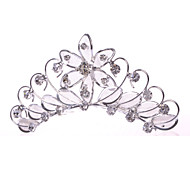 Женский Для девочек Сплав металлов Сеть Заставка-Свадьба Особые случаи На каждый день Гребни 1 шт.