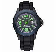 Men's Assorted Colors Full Plastic Dial And Band 3ATM Water Resistant Japan Quartz Movement Wristwatches