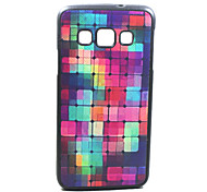 For Samsung Galaxy Case Pattern Case Back Cover Case Geometric Pattern TPU Samsung A5
