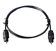 6FT Digital Fiber Optic Cord Optical TosLink Audio Cable
