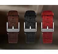 Sport Band Leather Watch Strap For Apple Iwatch 42mm