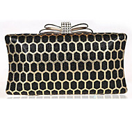 Women's Exquisite Bowknot Stereo Pattern Hand Set Drill Evening Handbags