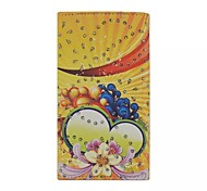 Diamond Compote Patterns Wallet Card General PU Leather Full Body Case for Gionee Elife E6