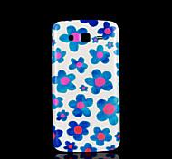 bloempatroon deksel fo Samsung Galaxy Grand 2 g7106 case