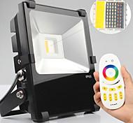 WASEDAER Lâmpada de LED Smart Regulável/Controle Remoto 20 W 600-650lm LM K Branco Quente/RGB/Muda de Cor 1 LED Integrado 1 pç AC 100-240