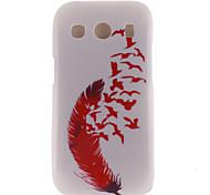 rode veer ontwerp TPU zachte hoes voor Samsung Galaxy Ace stijl lte g357 / ace 4 g357fz