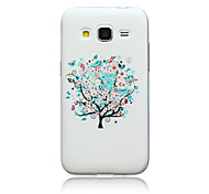 Tree Pattern TPU Material Phone Case for Samsung GALAXY CORE Prime G360