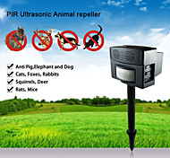 Superpower Outdoor Ultrasonic Safe Harmless PIR Ultrasonic Animal Repeller