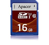 Apacer 16GB Clase 10 / UHS-I U1 SD/SDHC/SDXC (MB/S) (MB/S)