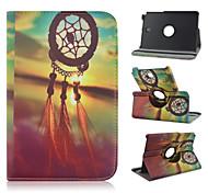 8 inch 360 graden rotatie decoratiepatroon stand case voor Samsung Galaxy Tab een 8,0 sm-T350 / T351