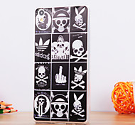 The Skeleton Design TPU Soft Case for Huawei P8