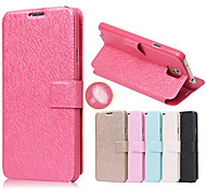 Silk Pattern with Card Bag Full Body Case for Samsung Galaxy Note 4 (Assorted Color)