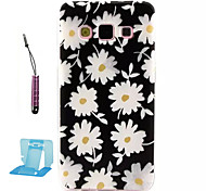 For Samsung Galaxy Case Pattern Case Back Cover Case Flower TPU Samsung A3