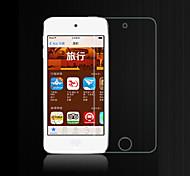 alta transparencia de cristal LCD protector de pantalla transparente con paño de limpieza para el iPod touch 4