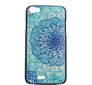 Blue and White Pattern Painted PC Phone Case for Wiko Lenny