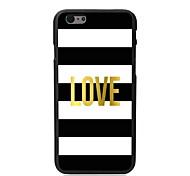 liefde ontwerp harde case voor iPhone 6 plus