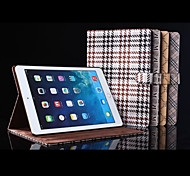 Luxury Leather Wake Up Smart Flip Full Body Stand Case for iPad 5/Air (Assorted Colors)