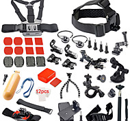 41-In-1 Hot Outdoor Sports Camera Accessories Kit For GoPro Hero 4 / 3+ / 3 / 2 / 1