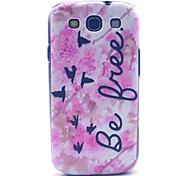 Birds Pattern PC Hard Case for Samsung S3 I9300